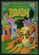 Comix original 1972 underground comic book Brain Fantasy # 1. #176